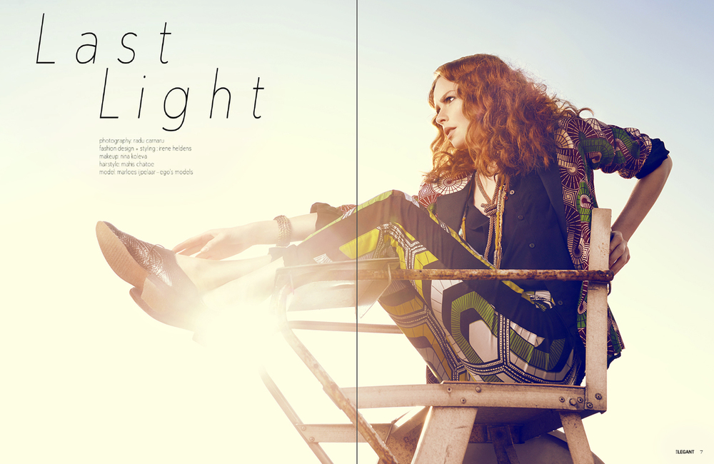 Elegant magazine, issue November 2014  Photography by: Radu Carnaru