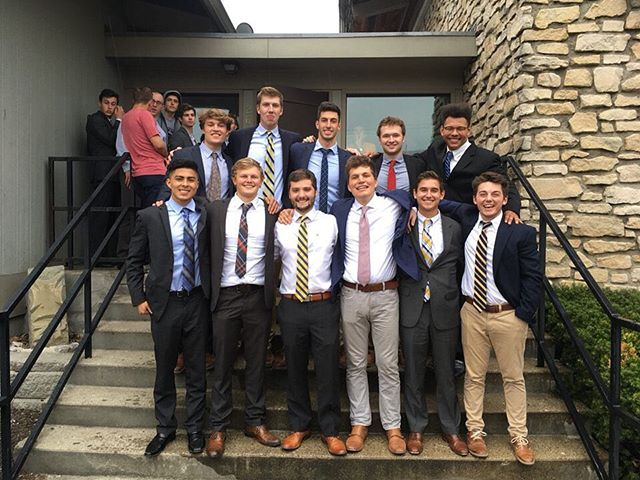 Today we are welcoming the 4/14/18 pledge class into our brotherhood. Congratulations guys!