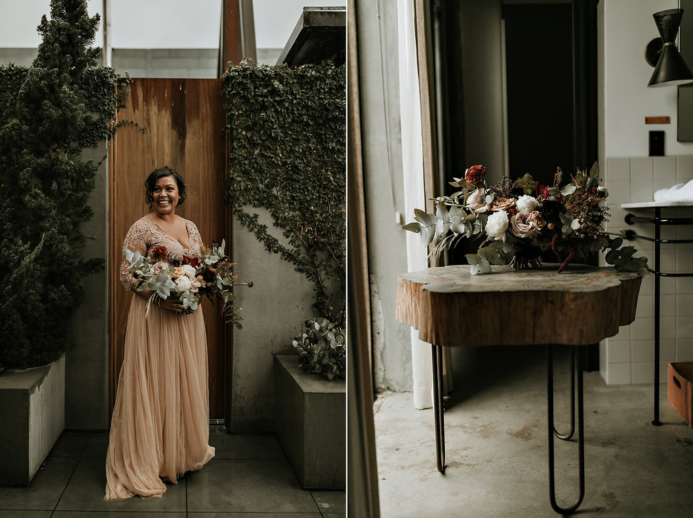 Mike + Andrea >> Married at The Natural History Museum of Los ...