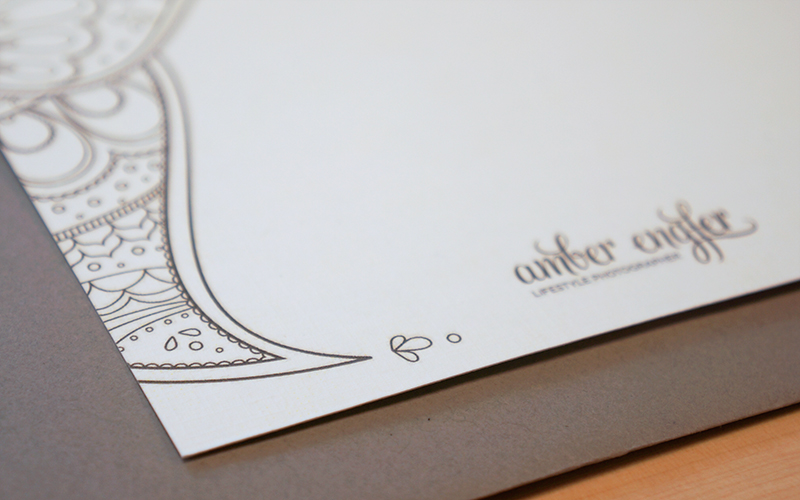 Amber Engfer Branding by Kayd Roy