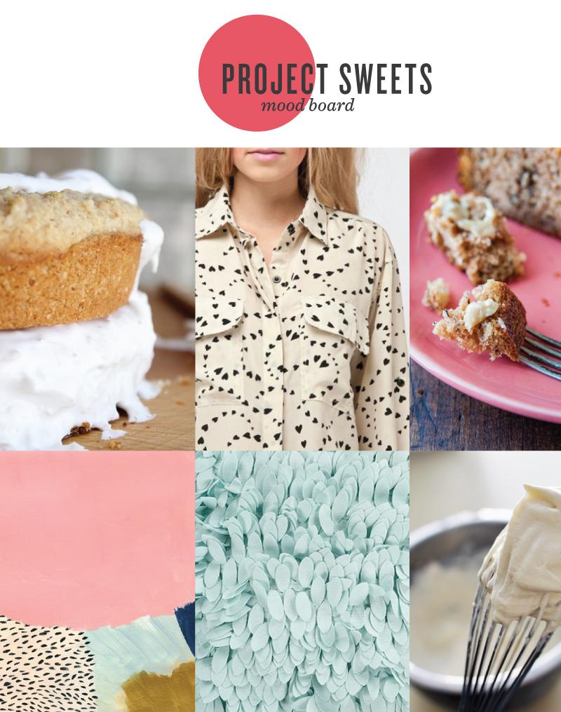 Oven Lovin' Sweets Mood Board - Kayd ROy