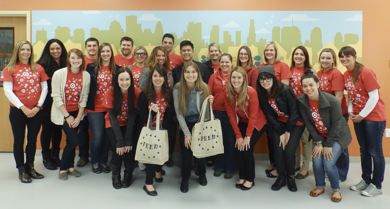 FEED + Target at Second Harvest Heartland