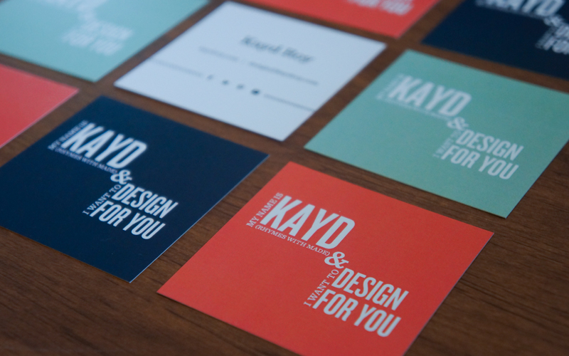 Kayd Roy Business Cards