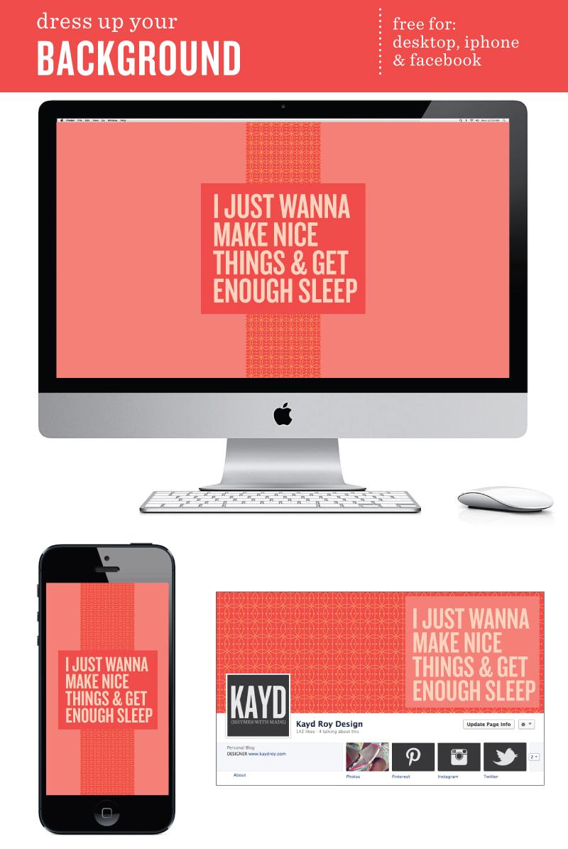 Desktop Wallpaper - Kayd Roy
