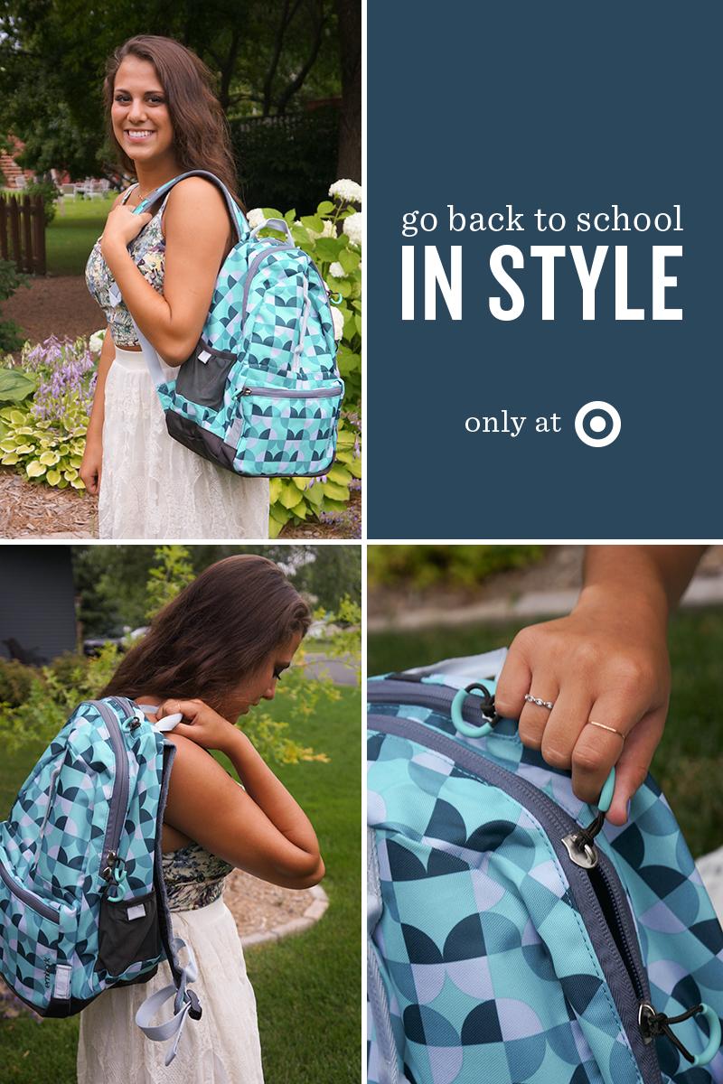 Backpacks at Target - Kayd Roy