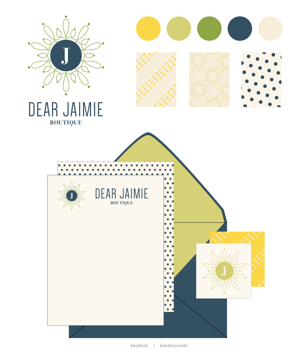 Dear Jaimie Branding Kit - For Sale by Kayd Roy