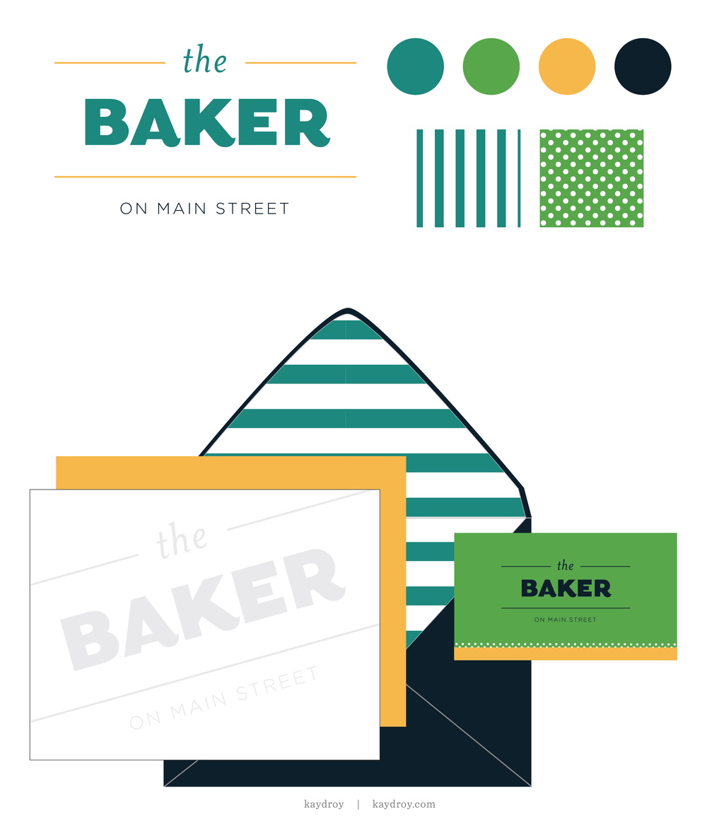 The Baker Branding Kit - For Sale by Kayd Roy