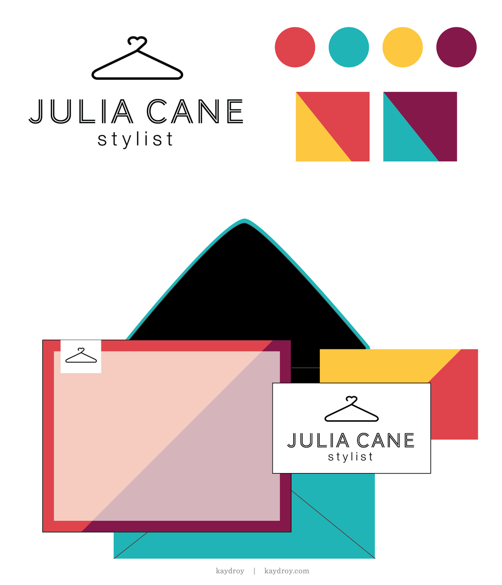Julia Cane Branding Kit - For Sale by Kayd Roy