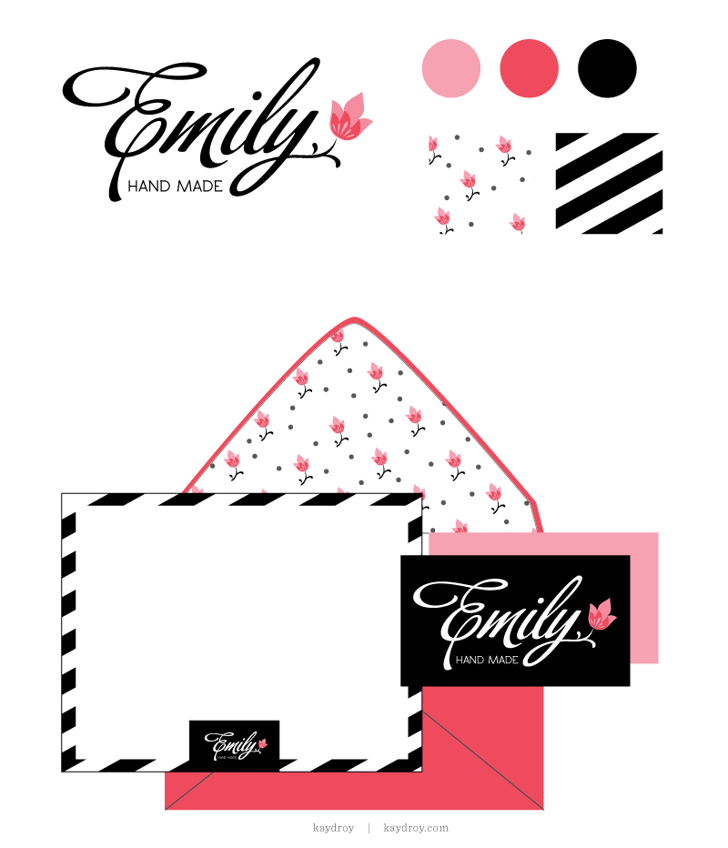 Emily Hand Made Branding Kit - For Sale by Kayd Roy