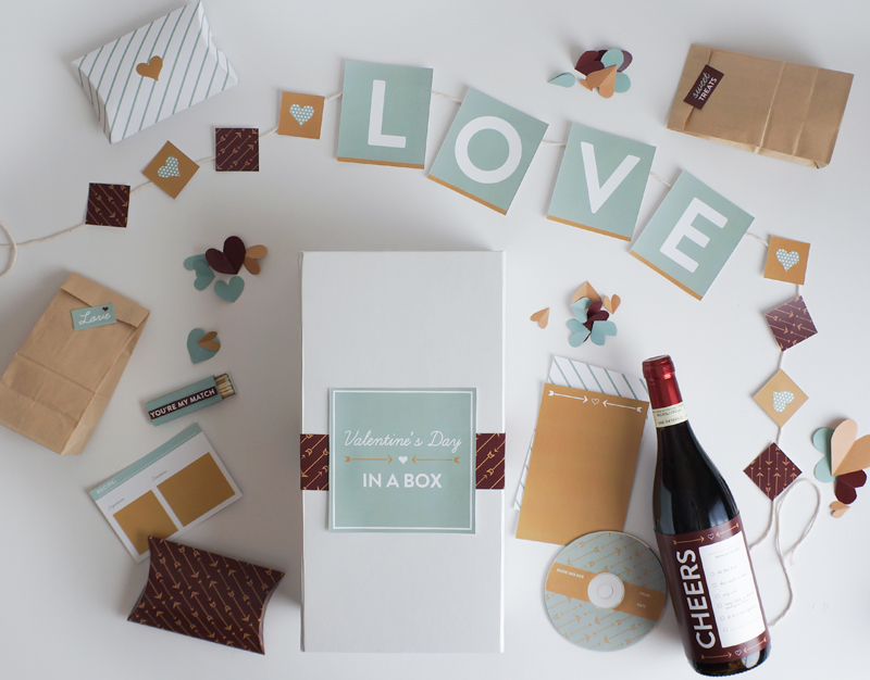 DIY Valentine's Day in a Box by Style-Architects
