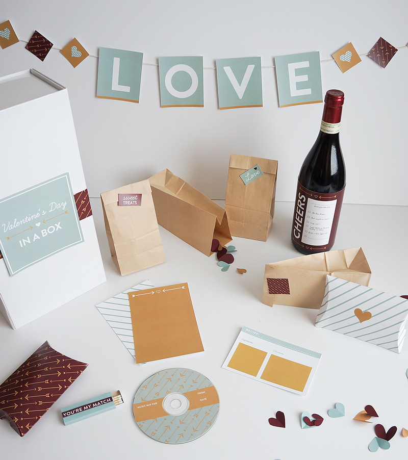 DIY Valentine's Day in a Box from Style-Architects