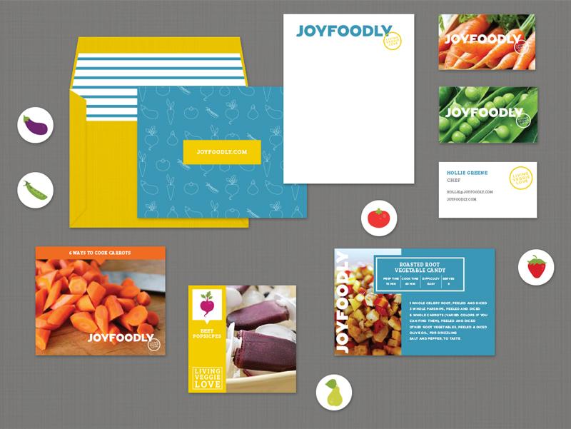 JoyFoodly Branding - Kayd Roy