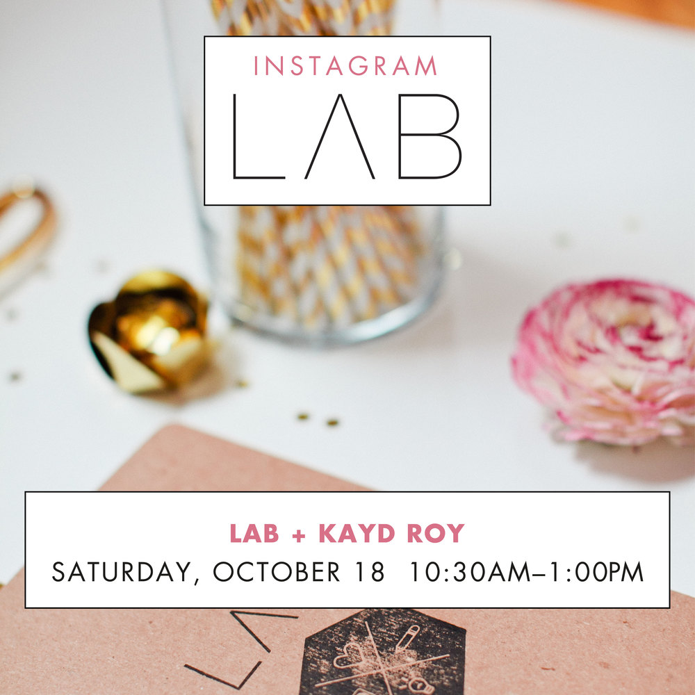 Lab MPLS - Instagram Class with Kayd Roy