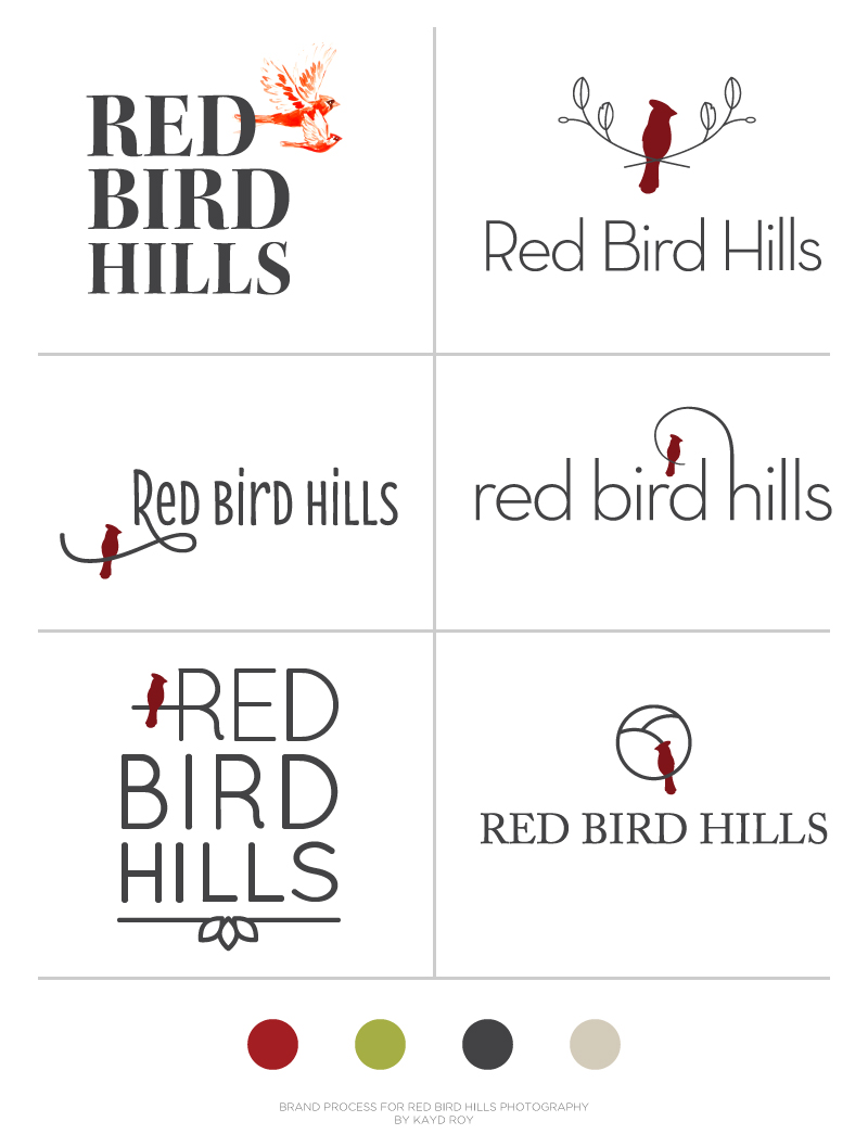 Brand Process for Red Bird Hills | Kayd Roy