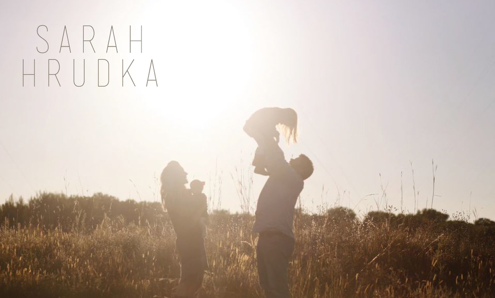 Sarah Hrudka branding by Kayd Roy