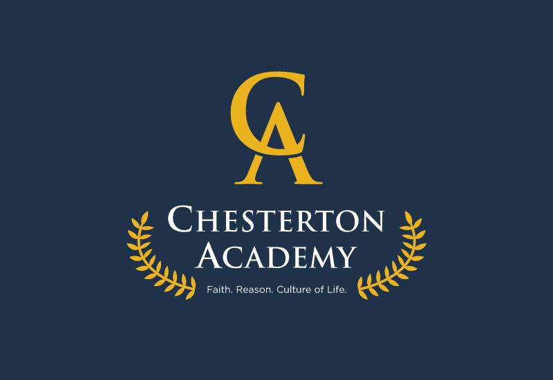 Chesterton Academy branding by Kayd Roy