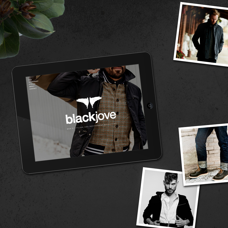 Blackjove website design