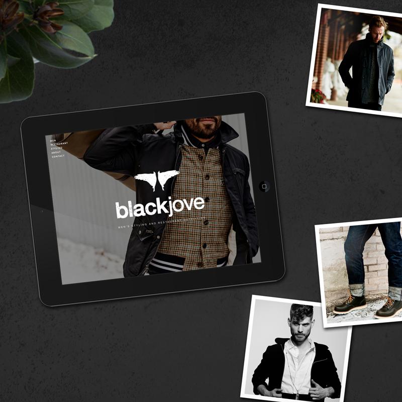 Blackjove website design