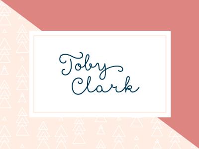 Toby Clark branding