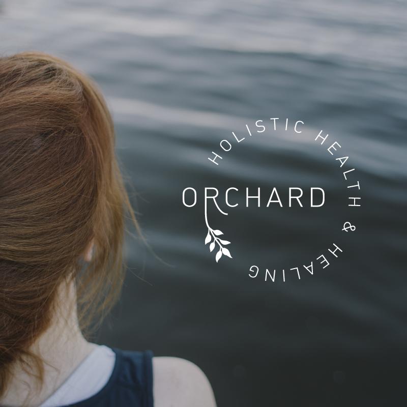 Orchard Holistic logo design  -  Kayd Roy