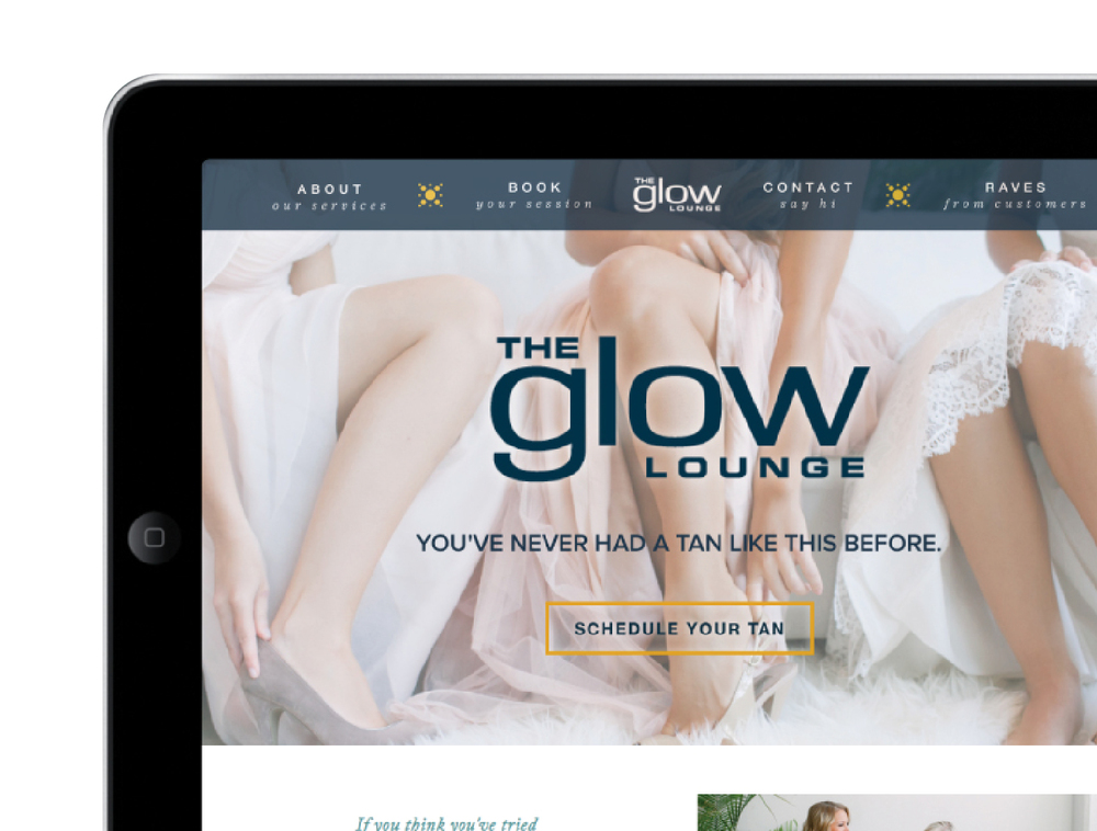 Glow Lounge Website by Kayd Roy