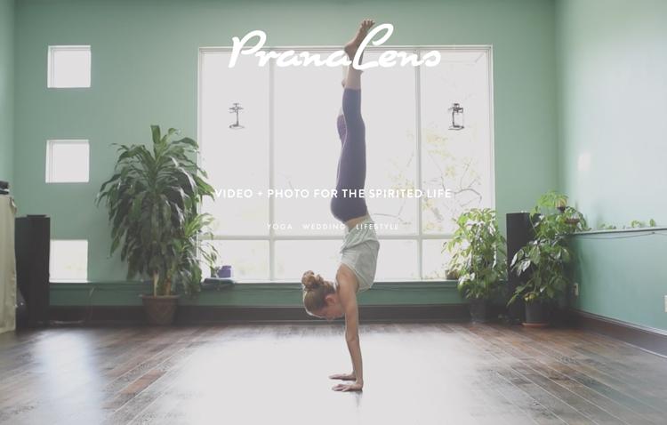 Prana Lens website design by Kayd Roy