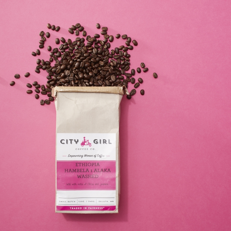 City Girl Coffee - social management by Fresh Coast Collective