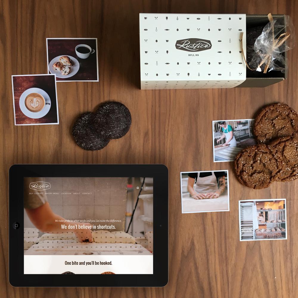Rustica Bakery website by Kayd Roy