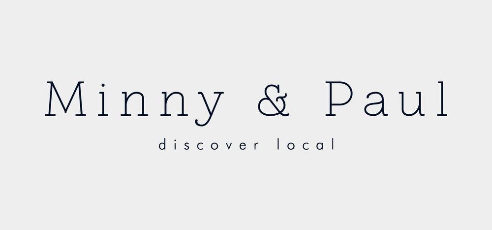 Minny & Paul - logo designed by Kayd Roy