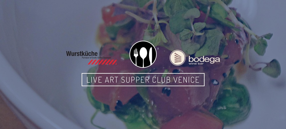 Live Art Supper Club_Art Unified