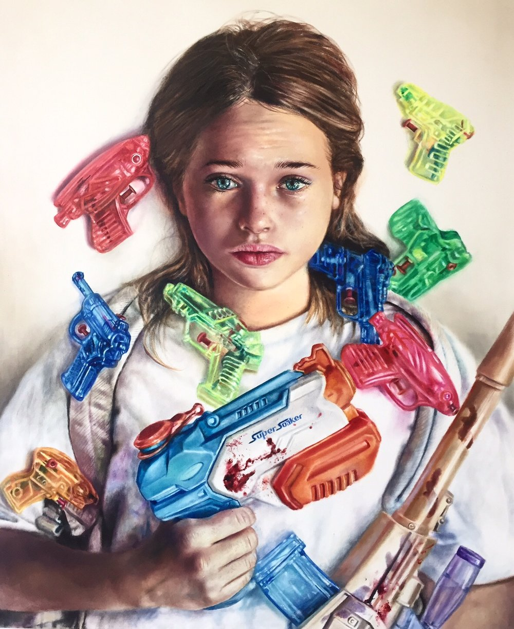 Toy Guns 2017 Saatchi gallery, private collector