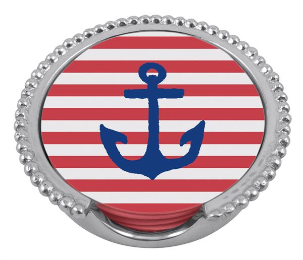 23532 - Anchor Coaster Set - $38 - Received