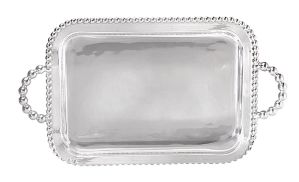 19235 - Monogrammed SOP Handled Tray - $199 - Received