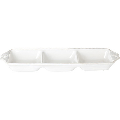 22255 - 3 Sectioned Rectangular Server - $59 - Received