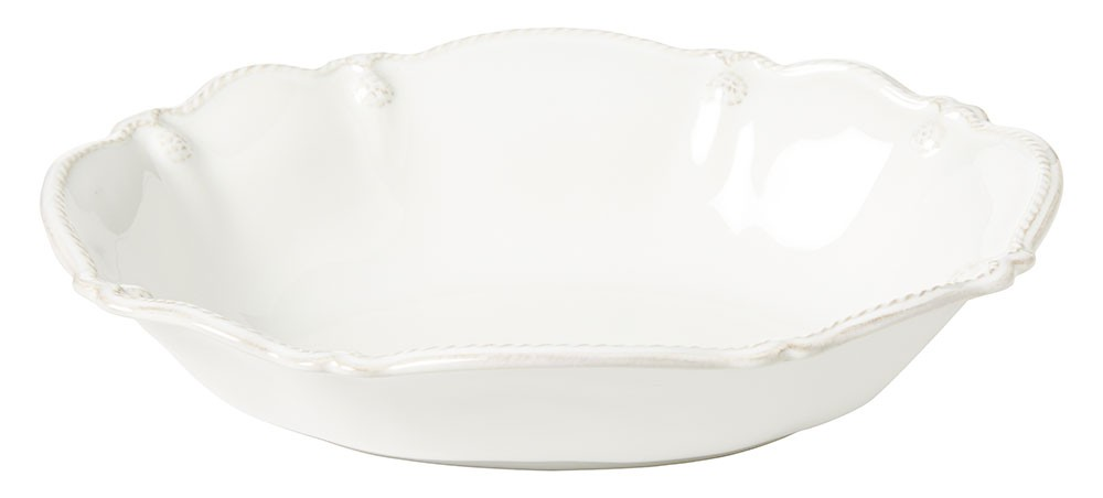 25268 - Small Oval Serving Bowl - $58