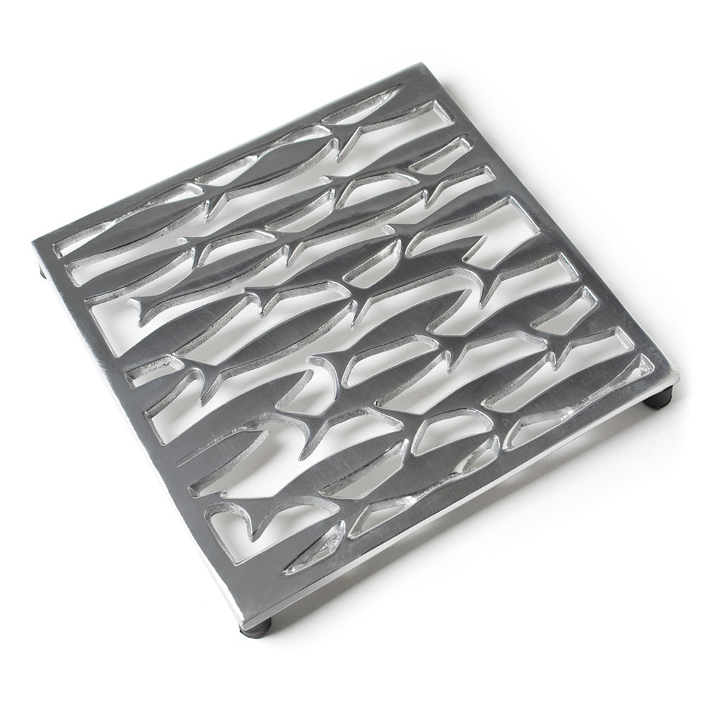 26526 - Swimming Fish Trivet(2) - $24/each
