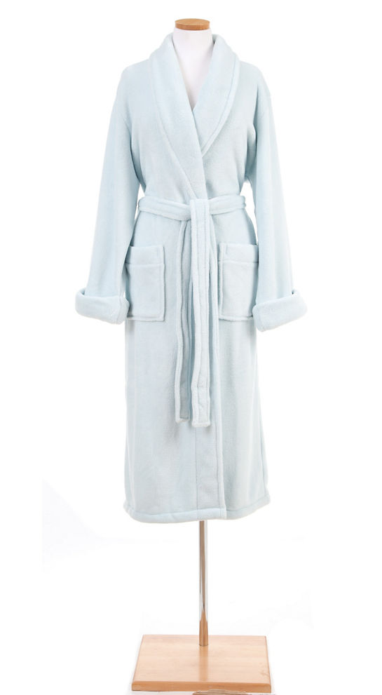 21237 - Chalk Blue Bathrobe - $92 - Received