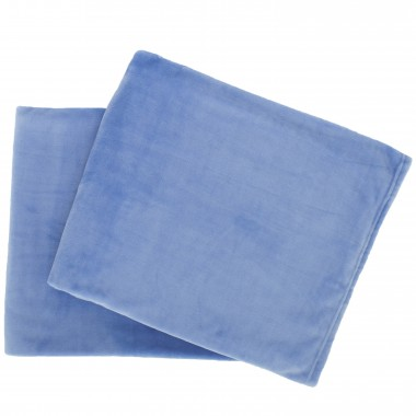 27588 - French Blue Throw (2) - $52/each - Received