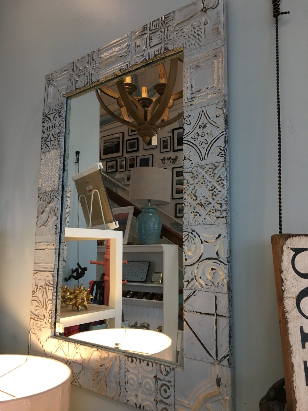 27288 - 29x40 Tin Mirror - $460 - Received