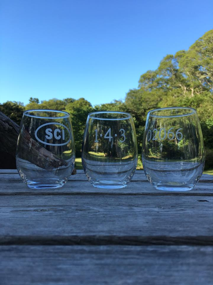 26320 - Stemless 143 Wine Glasses (4) - $14/each - Received (4)