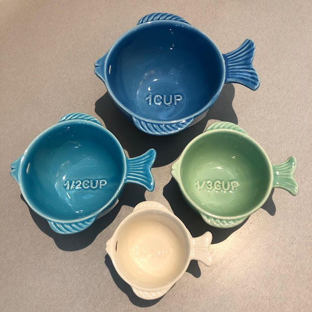 29362 - Fish Measuring Cups (Set of 4) - $32 - Received