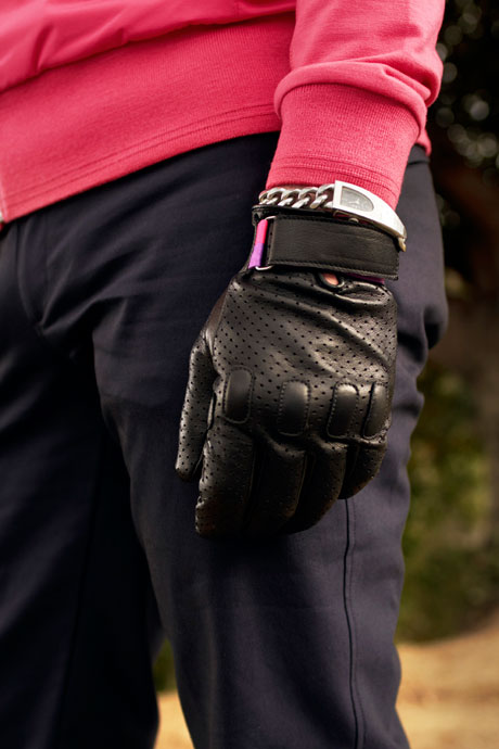 Rapha + Paul Smith city cyclings gloves