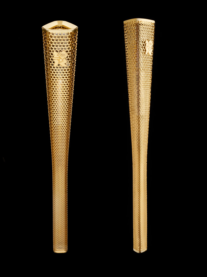 2012 Olympic Torch by Barber and Osgerby