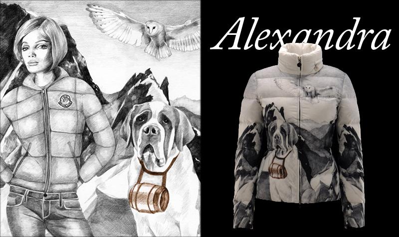 Alexandra Compain-Tissier for Moncler