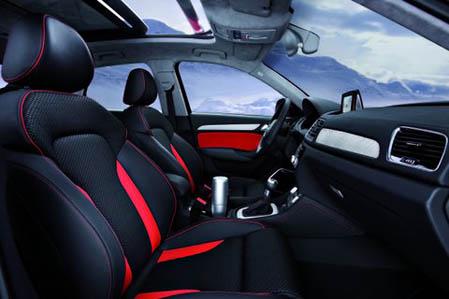 Audi Q3 Vail interior