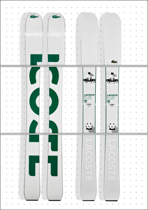 Lacoste Lab Skis