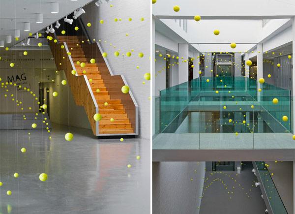 Ana Soler: Causa-Efecto installation art