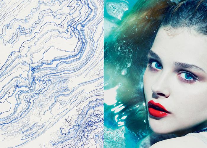 HYDRATE: Waver 4.19 by Yu Kawakita and Chloe Moretz by Alas & Piggott