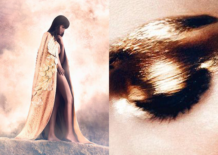 Golden Touch. Caelestis by Rio Prasetia and L'Oeil Lamé by David Sims.