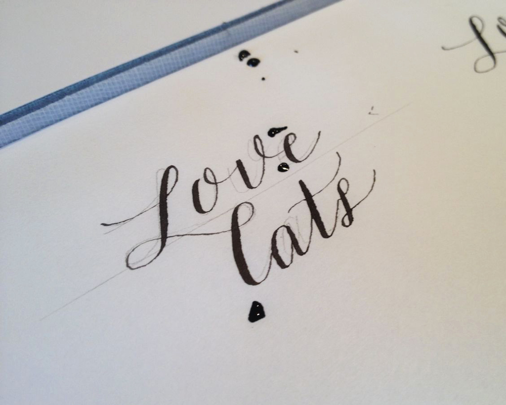 Calligraphy: more phrases and style